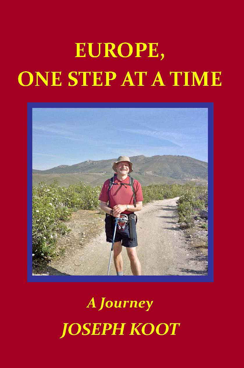 Europe, One Step at a Time by Joseph Koot [book cover]